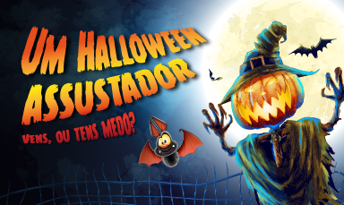 Um Halloween assustador!
