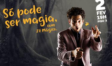Só pode ser magia,