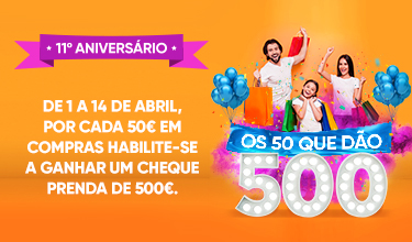 OS 50 QUE DÃO 500