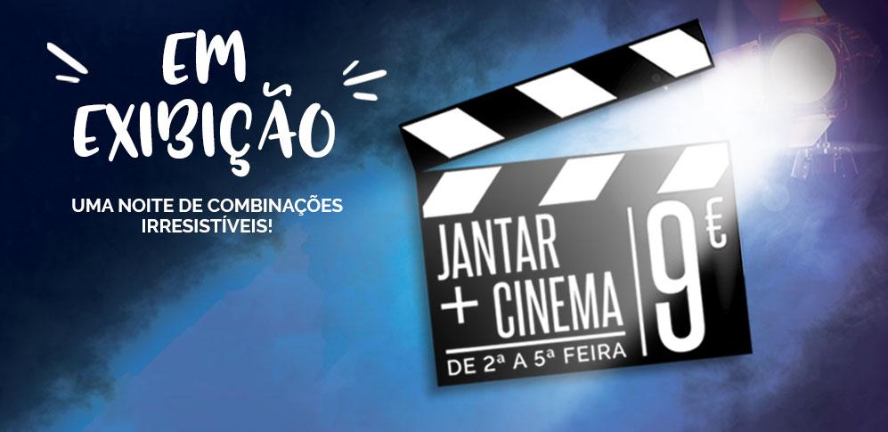 Campanha Jantar + Cinema