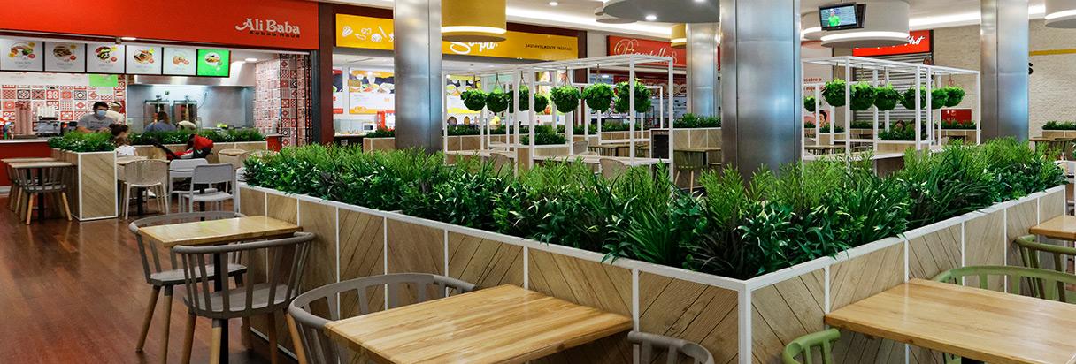 Palácio do Gelo Shopping - Restauração